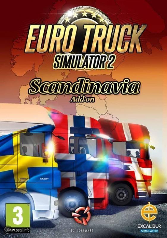 euro truck simulator 2 scandinavi add on computer games. Black Bedroom Furniture Sets. Home Design Ideas
