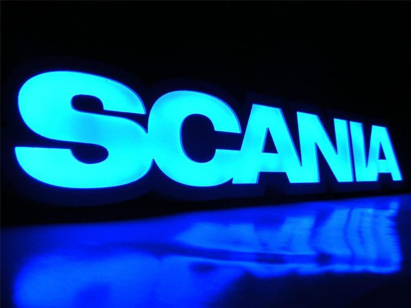 Led Neon Plaat Scania 3d Led Platen Binnen Verlichting
