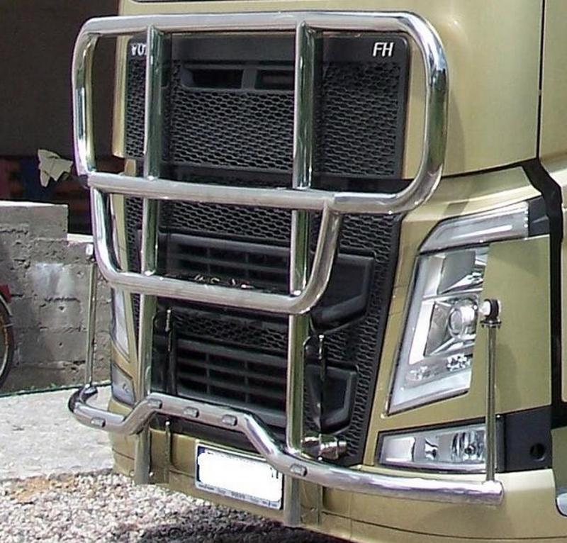 RVS Volvo FH Bullbar - Volvo - RVS Accessoires - Accessoires buiten ...