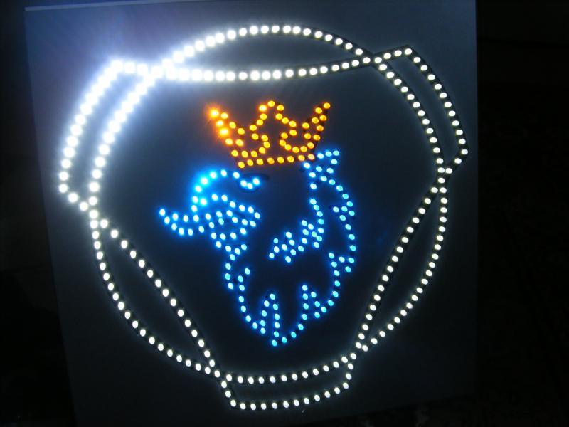 Scania griffioen logo LED verlicht - LED accessoires verlichting ...