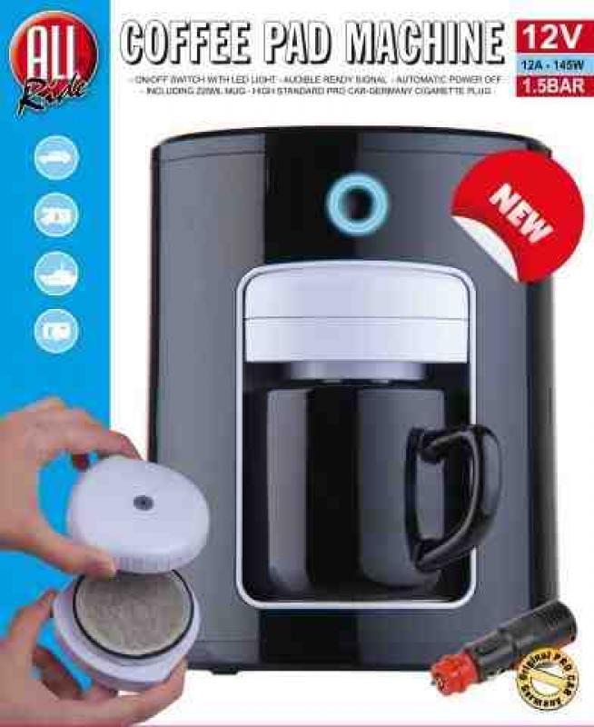 Rode Keuken Machine : Senseo koffiepad machine 12 volt – 12 Volt – Koffiezetapparaten 12v