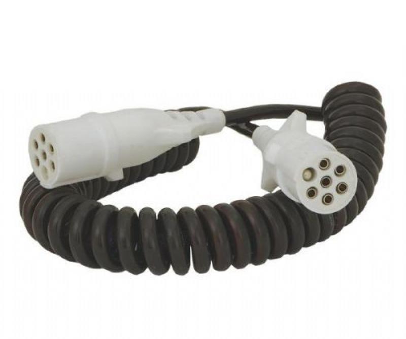 Verlichtingskabel 7-polig kunstof stekker male - Verlichtings kabels ...