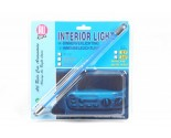 All Ride Interieur light neon blauw 24v