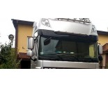 DAF RVS Sunvisor bar