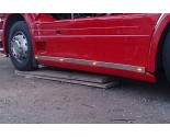 Scania RVS sideskirt strip